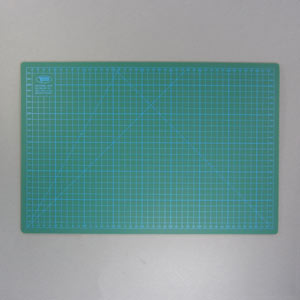 Green A3 cutting mat