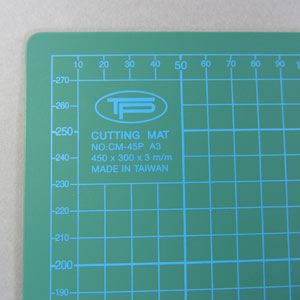 A3 cutting mat green