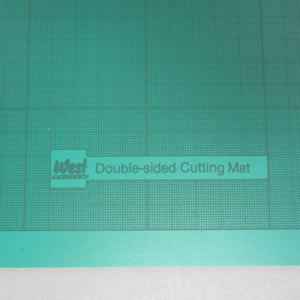 Green A2 cutting mat