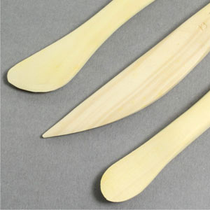 Modelling tools wooden Pk10