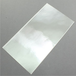 Bright Chrome Bare Metal Foil