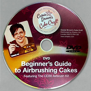 Cassie Brown Cake Decorating Airbrush Kit : Cassie Brown CD30 Airbrush & Compressor Kit