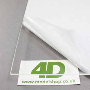 1.0mm clear cast acrylic sheet