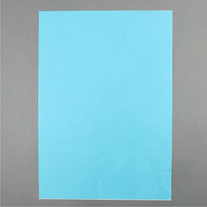 Blue acetate sheet