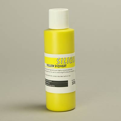 Yellow Mouldlife silicone pigment