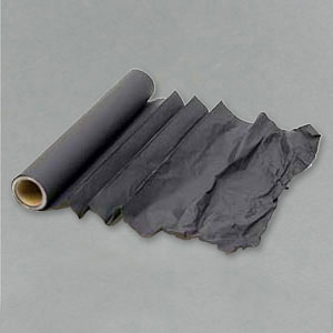 Matt black cinefoil roll