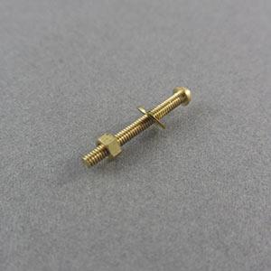 Miniature Brass Bolts
