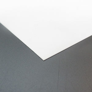 0.25mm white styrene sheet