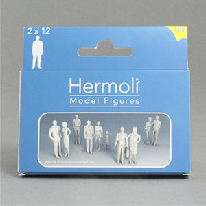 1:200 figures for use on architectural models