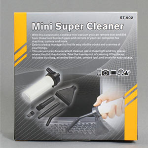 vacuum cleaner, mini (ty00042)