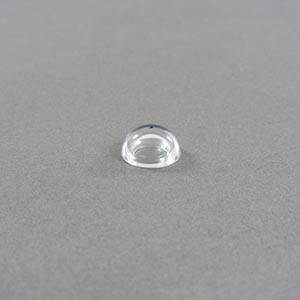 12.7mm clear acrylic dome