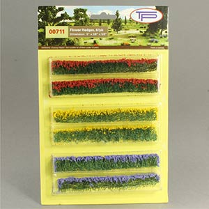 Miniature flower hedges