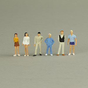 Preiser 14003 Boys and Girls 6 Figures