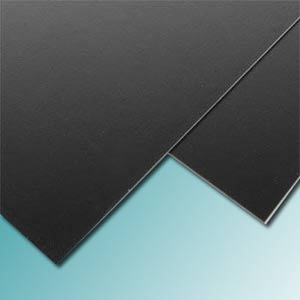2mm Black Styrene Sheet