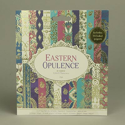 Eastern Opulence paper pad