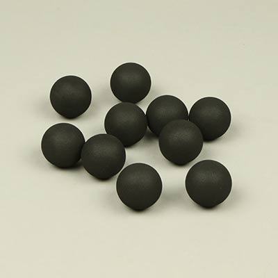 30mm black foam balls