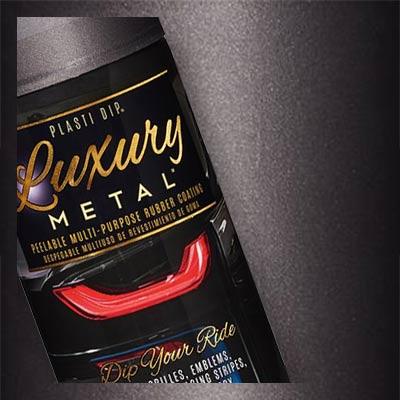 Black Sapphire Plasti Dip Luxury Metal