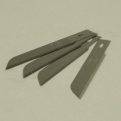 Replacement blades for the foam cutting knife