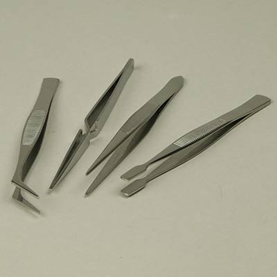 Stainless Steel Tweezers Set
