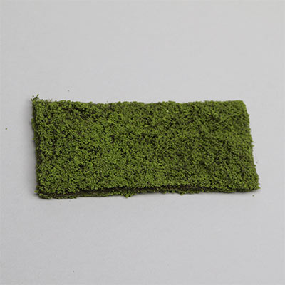 Light green texture mat