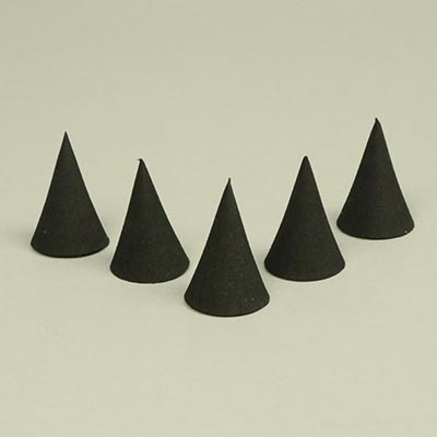 30mm EVA craft foam cones