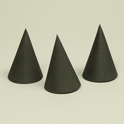 60mm EVA craft foam cones