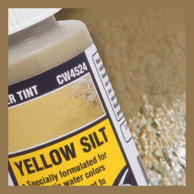 Water Tint - Yellow Silt