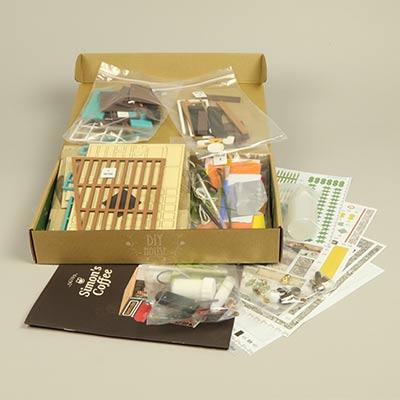 diy coffee kit simon sam study miniature materials kits