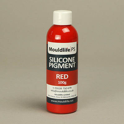Silicone pigment 50gms red