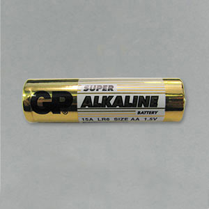 AA battery 1.5 volts GP single