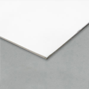 Card, white 0.9 x 630 x 960mm