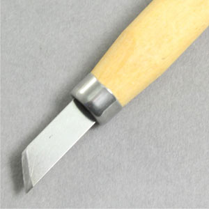 Chisel set steel with pine handle Pk6