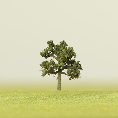 75mm summer green model tree