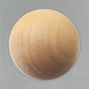 80mm Wooden Sphere