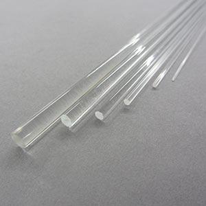 1000mm Clear Acrylic Rod