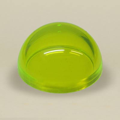 Yellow acrylic dome