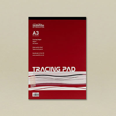 Trace pad 90gsm A3