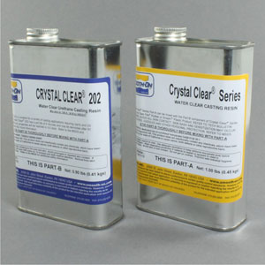 Smooth-on Crystal 202 water clear resin