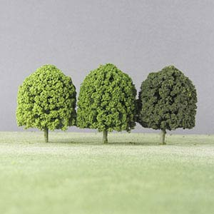 Deciduous string & wire tree green packs