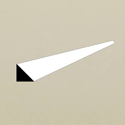 how to draw a right angled triangle shape