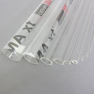 Clear acrylic round tube 1000mm