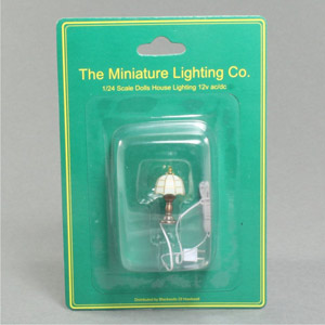1:24 table lamp Tiffany white