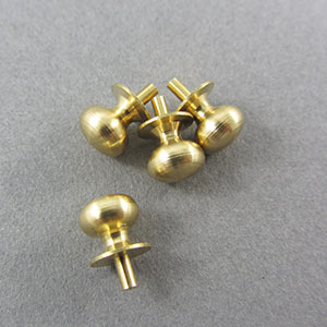 Brass knob 6.4mm