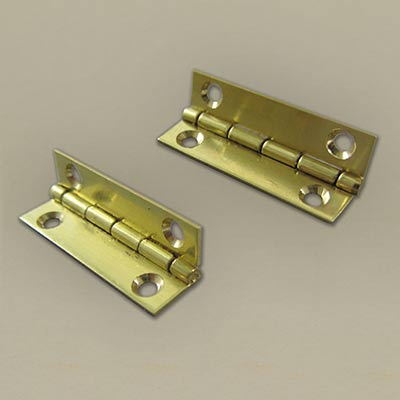 Brass hinge 12.7 × 25.4mm