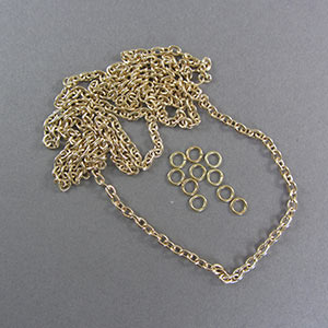 Brass 8 links per 25mm CHN8