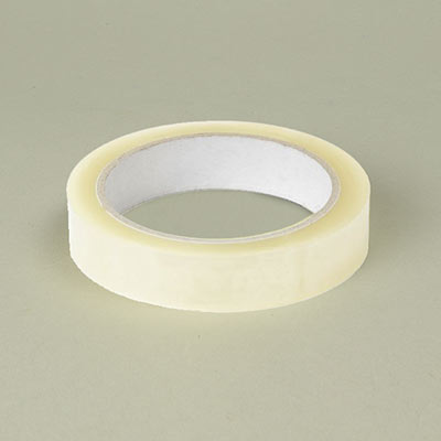 Clear tape 25mm x 66m