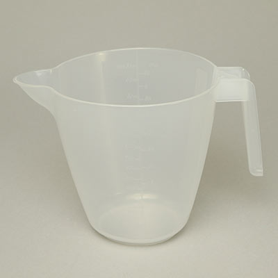 Measuring jug, plastic 1000ml