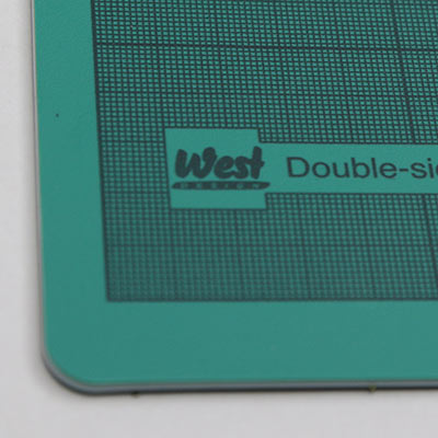 A5 cutting mat green