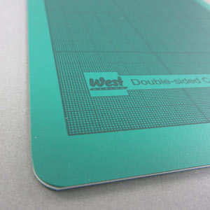 A1 cutting mat green
