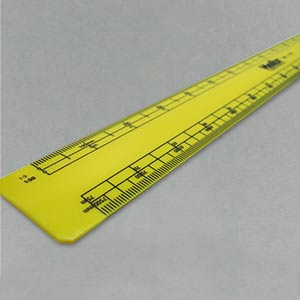 Scale rule - engineers 300mm